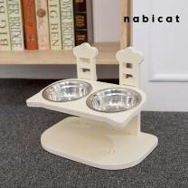 [바보사랑]나비캣 높낮이조절 고양이모양 식기