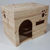 [바보사랑]삼나무 원목 궁전형 소형 하우스