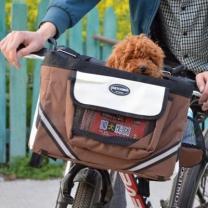 [바보사랑]애완견 자전거 바구니 캐리어