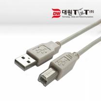 대원TMT USB 케이블(미니수-수) 10M