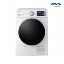 [배송설치]위니아_ 18년형 NEW 크린 건조기 WCH09BS5W (화이트,9kg)