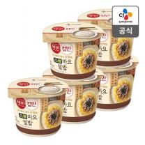 [CJ직배송] 햇반컵반 스팸마요덮밥219g X 5개