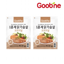 굽네 오리지널 훈제 닭가슴살 슬라이스 100g,2팩_AG24