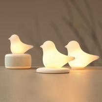 이모이 버드 블루투스 스피커 LED 램프 조명 무드등/수유등/취침등/수면등