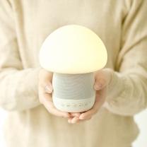 이모이 머쉬룸 블루투스 스피커 LED 램프 조명 무드등/수유등/취침등/수면등