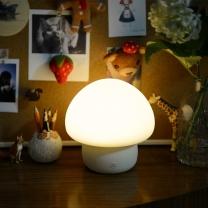 이모이 머쉬룸 LED 램프 조명 무드등/수유등/취침등/수면등