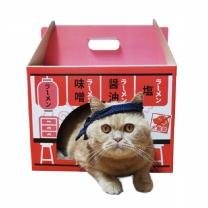 데코퐁 라멘박스 고양이집 고양이 스크래쳐