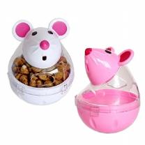 우쭈쭈 쉐이크 마우스 스낵볼 ×2개 색상랜덤 강아지장난감