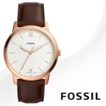 [FOSSIL] 파슬 FS5463 남성시계 가죽밴드 손목시계