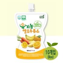 [프로엠] 유기농 100% 옐로우주스100ml 10개입(박스)
