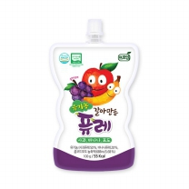 [프로엠] 유기농 갈아만든 퓨레(사과,바나나,포도)100g