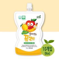 [프로엠] 유기농 갈아만든 퓨레(사과,바나나,망고)100g 10개입(박스)