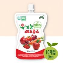 [프로엠] 유기농 100% 레드주스100ml 10개입(박스)