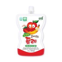 [프로엠] 유기농 갈아만든 퓨레(사과,바나나,딸기)100g