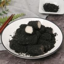 [헐레벌떡] 쫀득쫀득 한입에 쏙 흑임자 인절미 28g x 12알