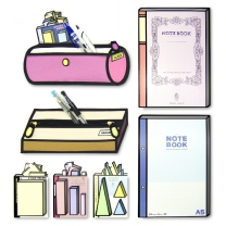 [리빙도쿄] FAKUS 디자인 필통 노트 포스트잇 시리즈