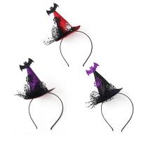 박쥐 마녀 모자 머리띠