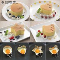 타이거크라운 스텐레스 빵케익 링(깊은형)/빵틀/하트모양틀/계란후라이틀