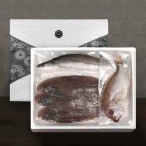 [착한어부]반건조 제수용 생선 알뜰 세트 / 민어조기 1미(특대)+꽃돔 1미(대)+서대3미