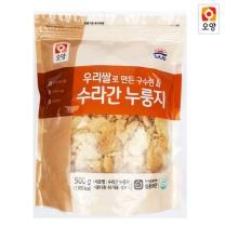 수라간 누룽지 500g (지퍼팩 포장)