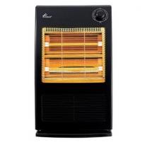 [하이마트] 온풍기 겸용 전기스토브 EHF-3100BL [강약조절 / 전도안전장치 / 석영관히터]