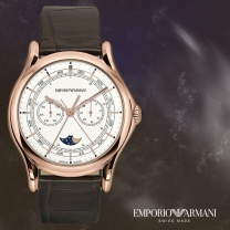 EMPORIO ARMANI 엠포리오아르마니 ARS4202 알마니 스위스 남성시계 가죽시계