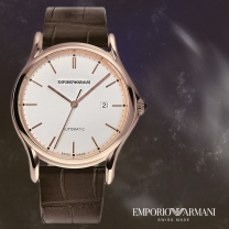 EMPORIO ARMANI 엠포리오아르마니 ARS3012 알마니 스위스 남성시계 가죽시계