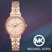 [MICHAEL KORS] 마이클코어스 MK3643 여성시계 메탈밴드 손목시계