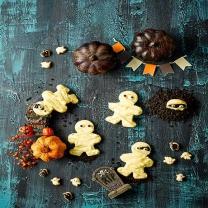 피나포레 할로윈 미라 유령 쿠키 만들기 DIY 베이킹 쿠킹박스