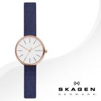 [SKAGEN] 스카겐 SKW2592 여성시계 가죽밴드 손목시계