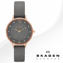[SKAGEN] 스카겐 SKW2267 여성시계 가죽밴드 손목시계
