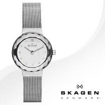 [SKAGEN] 스카겐 456SSS 여성시계 메탈밴드 손목시계
