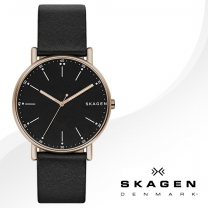 [SKAGEN] 스카겐 SKW6401 남성시계 가죽밴드 손목시계