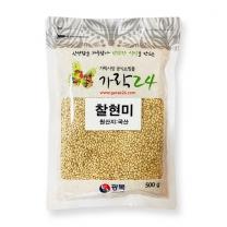 유료배송_[가락24]찰현미 500g/광복/17년산