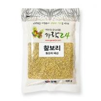 유료배송_[가락24]찰보리 500g/광복/17년산