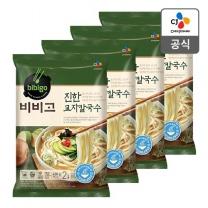 [CJ직배송]비비고 진한교자칼국수630g X 4개