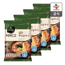 [CJ직배송]비비고 얼큰버섯칼국수592g X 4개