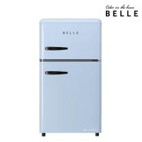 [하이마트] 벨 레트로 냉장고 / RD09ASBH 90L