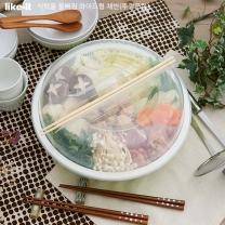 요시카와 식탁용 와이드형 재료채반&트레이(뚜껑포함)