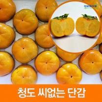 (인빌푸드)(예약)청도 씨없는단감 5kg(대/21-25과)