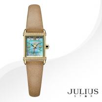 [JULIUS STAR] 줄리어스 스타 JS002B 여성시계 가죽밴드 손목시계