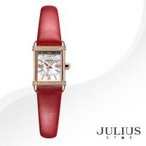 [JULIUS STAR] 줄리어스 스타 JS002D 여성시계 가죽밴드 손목시계