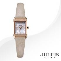[JULIUS STAR] 줄리어스 스타 JS002C 여성시계 가죽밴드 손목시계