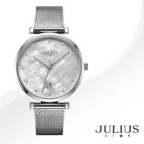 [JULIUS STAR] 줄리어스 스타 JS003A 여성시계 메탈밴드 손목시계