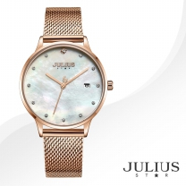 [JULIUS STAR] 줄리어스 스타 JS004B 여성시계 메탈밴드 손목시계