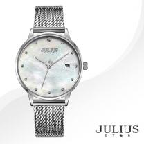 [JULIUS STAR] 줄리어스 스타 JS004A 여성시계 메탈밴드 손목시계