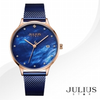 [JULIUS STAR] 줄리어스 스타 JS004D 여성시계 메탈밴드 손목시계
