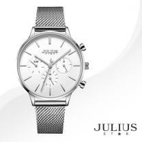 [JULIUS STAR] 줄리어스 스타 JS005A 여성시계 메탈밴드 손목시계