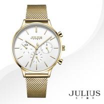 [JULIUS STAR] 줄리어스 스타 JS005B 여성시계 메탈밴드 손목시계