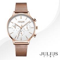 [JULIUS STAR] 줄리어스 스타 JS005C 여성시계 메탈밴드 손목시계